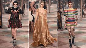 """Paryžiaus mados savaitėje """"Dior"""" surengė madingą cirką – ant podiumo pasirodė ir Giedrė Dukauskaitė"""