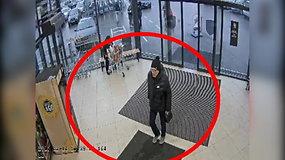 Policija ieško iš parduotuvės išėjusių ir už prekes nesusimokėjusių vyrų