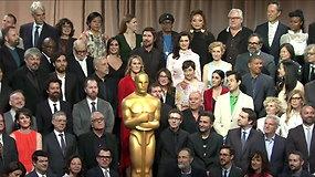 """Nominuotieji """"Oskarų"""" apdovanojimams susitiko bendruose pietuose"""