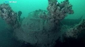"""Juodojoje jūroje aptiktas istorinis laivas, priklausęs """"prarastajam Hitlerio laivynui"""""""