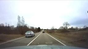 Kauno policija užfiksavo Kelių eismo taisyklių pažeidėjus