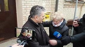 Į laisvę paleistas teisėjas H.Jaglinskis atsiprašė situacijos sukrėstų piliečių