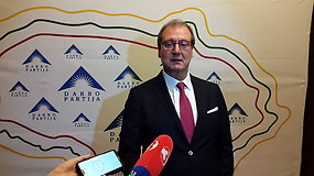 V.Uspaskichas atskleidė, kad ves Darbo partiją į 2020 m. Seimo rinkimus