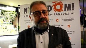 R.M.Račkauskas pasibaigus balsavimui tvirtino, kad tiki savo pergale rinkimuose