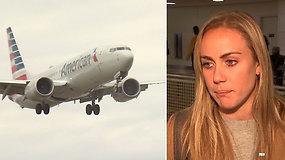 Per skrydį gautas pranešimas keleivę privertė sudrebėti – būtų žinojusi, niekada nebūtų lipusi į orlaivį
