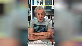 "Sero Iano McKelleno videokvietimas dalyvauti ""Baltic Pride"" eitynėse Vilniuje"