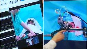 Pirmoji pasaulyje tokia smegenų operacija: už 3 tūkst. km nuo paciento esantis gydytojas įsodino implantą