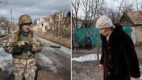 Karo šešėlyje gyvenantys ukrainiečiai baigia prarasti viltį: pasiryžę balsuoti už taikos pažadą
