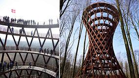 Danijoje atidarytas įspūdingas apžvalgos bokštas – patirtis ir atsiverianti panorama užgniaužia kvapą
