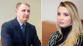 M.Šedžiuvienės ir A.Šedžiaus ištuokos byla tęsiasi – jie vėl susitiko teisme