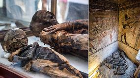 Vietovės istorijos paslaptis tikimasi atskleisti atvėrus rastas Ptolemėjų dinastijos kapavietes