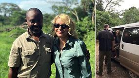Turistės apsilankymas Ugandos nacionaliname parke virto košmaru: moteris su gidu buvo pagrobti ginkluotų užpuolikų