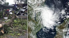Viską niokojanti jėga – Mozambiką užklupo galingiausias ciklonas per šalies istoriją