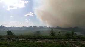 Šakių rajono gyventojus dusina iš Kaliningrado srities ateinantys dūmai