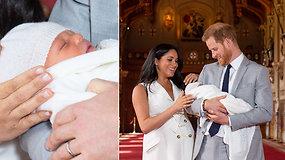 Karališkąjį kūdikį pristatę princas Harry ir Meghan Markle švytėjo iš laimės: jis keičiasi kiekvieną mielą dieną