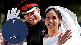 Gimė karališkasis kūdikis: princas Harry ir Meghan Markle susilaukė sūnaus