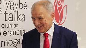 V.Andriukaitis tiki, kad  šį kartą yra geriausios formos užimti prezidento pareigas