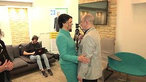 G.Nausėdos rinkimų štabas laukia prezidento rinkimų rezultatų