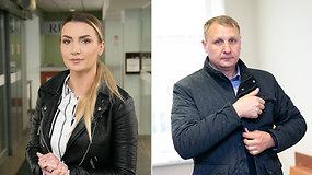 Artėja prie finišo tiesiosios: M.Šedžiuvienė ir A.Šedžius akis į akį vėl susitiko teisme