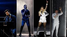 """""""Eurovizijos"""" finalas – be Lietuvos: pamatykite paskutiniųjų 10 finalistų pasirodymus"""