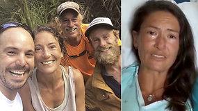 Išgyvenusi didžiausią siaubą ir 17 d. dingusia laikyta moteris prisipažino, kad rinkosi tarp gyvenimo ir mirties