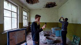 Vizitas į vaiduoklišką Černobylį  – žmonių minios neatbaido net pavojinga radiacija
