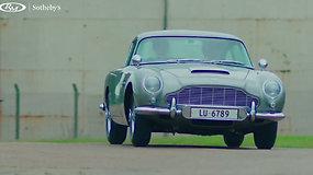 "Džeimso Bondo ""Aston Martin"" su specialiomis modifikacijomis naujo šeimininko lauks aukcione"