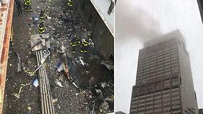 Manhatano tragedijos liudininkai išsigando pasikartosiančio Rugsėjo 11-osios siaubo