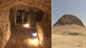 Egipte pirmą kartą atverta 4 tūkst. m. Lahuno piramidė – praėjo 130 m. nuo jos atradimo