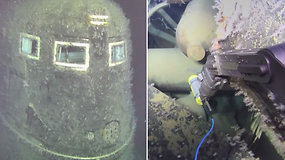 Prie nuskendusio sovietų povandeninio laivo radiacija 800 tūkst. kartų viršija normą