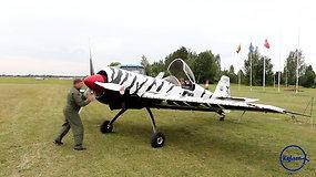 """""""Kylam"""": akrobatinio skraidymo lakūnai ruošiasi artėjantiems čempionatams"""