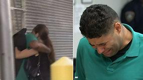 Automobilyje 8 val. dvynukus palikęs ir pražudęs tėtis teisme netvardė emocijų – jis išleistas į laisvę
