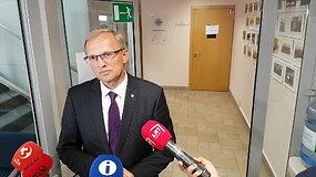 TT vadovas komentavo E.Misiūno galimybes grįžti iš ministrų į teisėjus