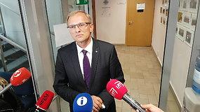 Pirmininkas A.Valantinas paskelbė, ką Teisėjų taryba nusprendė dėl korupcija įtariamų teisėjų