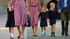 Kaina privers išsižioti: abejingų nepaliekanti princesė Charlotte pradėjo lankyti privačią mokyklą