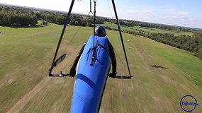 """""""Kylam"""": skraidyklių varžybose Utenoje – ir pirmosios skrydžių pamokos"""