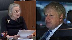 Triuškinantis teismo verdiktas: B.Johnsonas neteisėtai įšaldė parlamento darbą