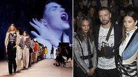 Louis Vuitton vintažinės kolekcijos pristatymą stebėjo būrys įžymybių