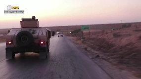 D.Trumpas apleido kurdų kovotojus Sirijoje – SDF pajėgos paliko teritoriją