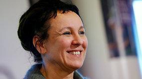 """Nobelio literatūros premijos laureatė Olga Tokarczuk: """"Rašymas palaiko mane gyvą"""""""
