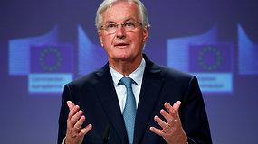 """Pagaliau: ES """"Brexit"""" derybininkas Michelis Barnier paskelbė apie pasiektą susitarimą"""
