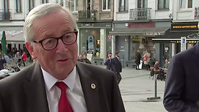 """EK pirmininkas J.-C.Junkeris apie pasiektą JK ir ES """"Brexit"""" susitarimą: galite būti laimingi"""