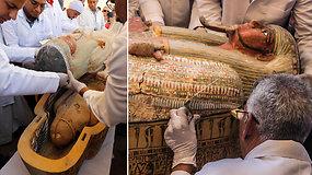 Archeologai aptiko didžiausią amžiaus radinį: rasta 30 3 tūkst. m. senumo karstų su mumijomis