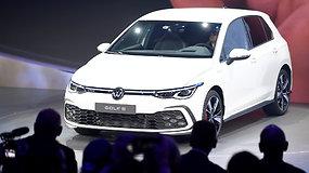 """Pristatytas iš pagrindų atnaujintas """"Golf"""":  sėkmingiausias """"Volkswagen"""" modelis niekada nebuvo toks progresyvus"""