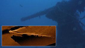 Mokslininkai atskleidė paslaptį: mįslingai dingęs Antrojo pasaulinio karo povandeninis laivas rasta po 77 m.