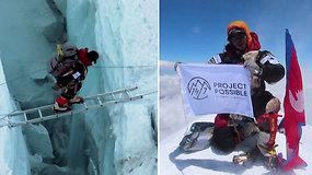Įkopęs į 14 aukščiausių kalnų viršūnių greičio rekordą pagerino net 8 metais: nepaliečiui prireikė vos 6 mėn.