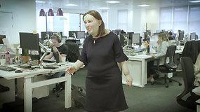Pamatykite, ką šiuolaikiškas biuro darbuotojų gyvenimas padaro mūsų kūnams – kaip to išvengti?