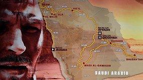 Pristatyta Dakaro ralio 2020 m. trasa: kokie išbandymai laukia lietuvių 7500 km smėlynuose