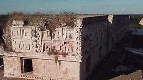 Rastas slaptas praėjimas į rūmus pastatytas dar 670 m. –  gali padėti atskleisti senovės Majų paslaptis