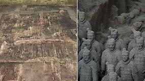 Unikalus atradimas padidino žymiąją terakotinę armiją: rasta dar 200 karių